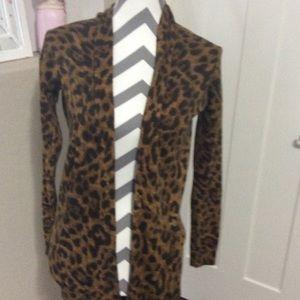 Leopard H&M cardigan
